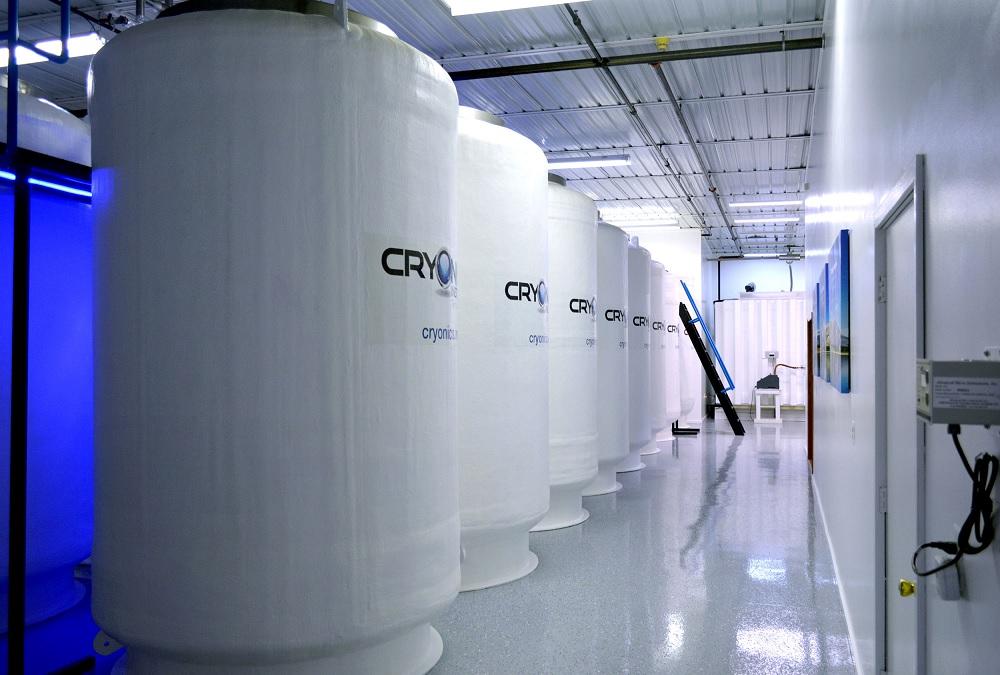 מיכלי הקפאה Cryonics Institute