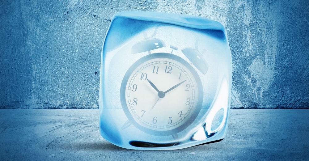 שעון מעורר קפוא