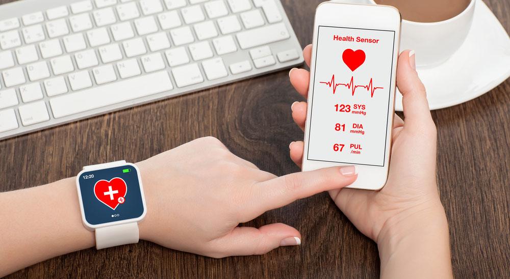 שעון חכם מנטר מצב בריאות